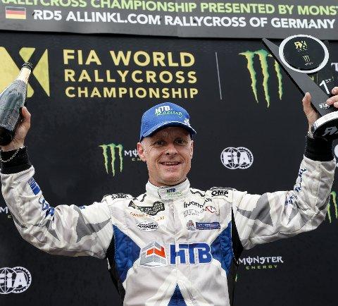 TILBAKE I VINNERTEAMET: Tommy Rustad og HTB Racing velger VM-runder framfor EM i rallycross, nå er han tilbake i vinnerteamet fra 2015. (Foto: iRafoss)