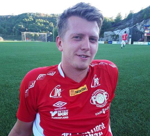 MÅ KOMME I FORM: Steffan Larsen blir spillende trener for FFK, og mener både han selv og mange av de andre må komme i litt bedre form for å være rustet til 5. divisjon.
