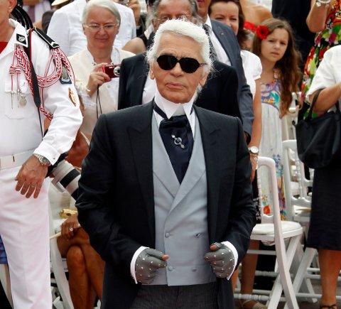 Moteskaperen Karl Lagerfeld er død.