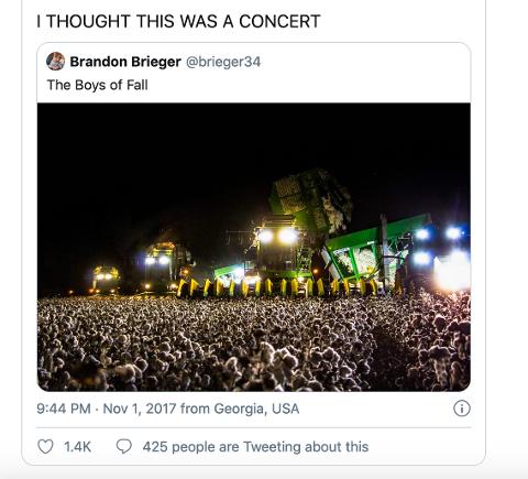 BILDEVITS: Slik startet memet om utendørskonserter.