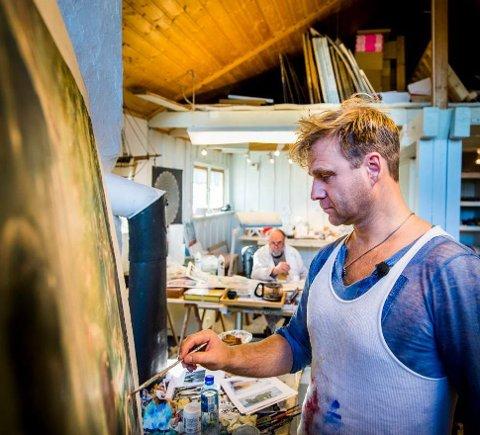 Kandidat 12: Vebjørn Sand vendte hjem fra New York med store utstillinger.