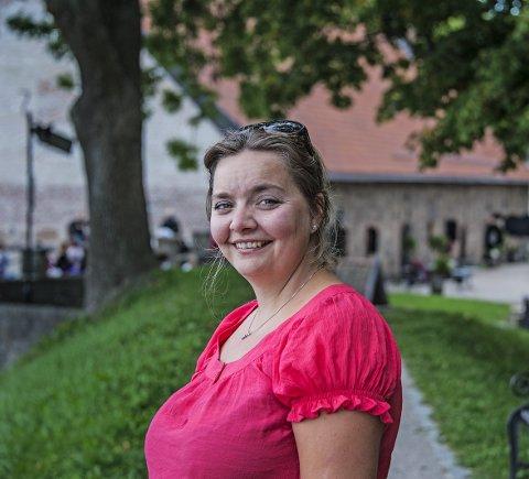 Nyordning: Karin-Elin Berg er med på det historiske kirkemøtet i Trondheim.