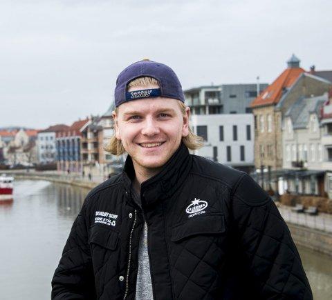 Rart: Andreas Heier innrømmer at det blir spesielt å møte Stjernen i kamp for aller første gang. (Foto: Erik Hagen)