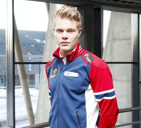 TIL FINALENE: Joachim Aurland ble nummer seks på sprint-prologen i U23-VM i Park City.
