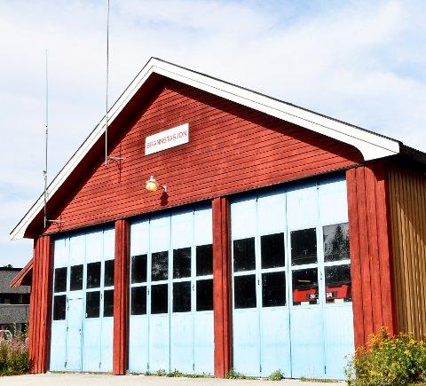 BYGGESTART I AUGUST: Brannstasjonen på Lesjaskog skal utvides og bygges om for 8,5 millioner kroner.