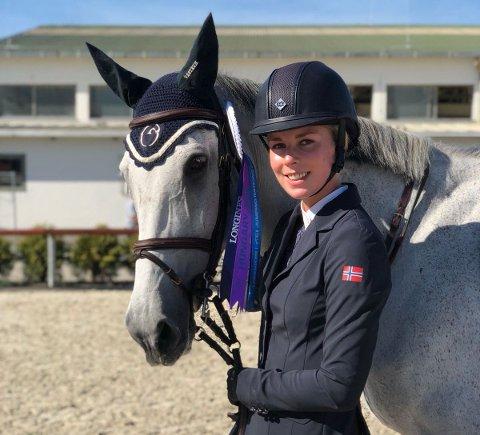 AMBISIØS: Lisa Ulven (19) har tatt et friår fra skolen, og satser alt på idretten sin. Med mål om å bli best.