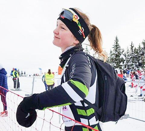 I FORM: Karin Selma Larsen ble nummer 12 i UngdomsBirken.