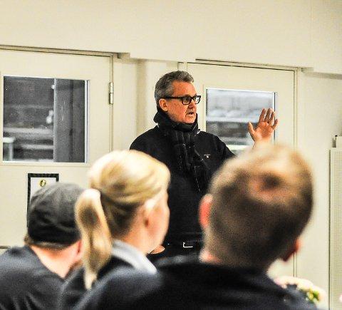 MER RETTFERDIGHET: Sven Stranger og Halden Basketballklubb kom med forlsag om en revisjon på reglene om tildeling av halltid.