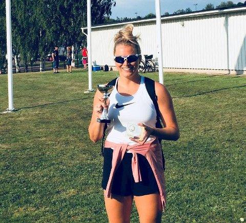 VANT: Emilie Ingerø viste god NM-form da hun vant et spydkaststevne i Arvika i helga.