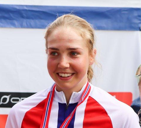 TIL HITEC: Ann Helen Olsen signerte fredag for det norske profflaget Team Hitec Products.