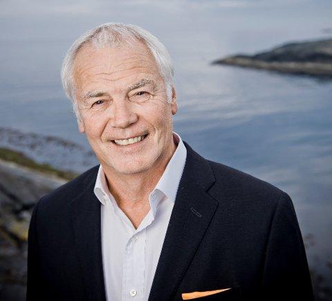 PENSJONIST: Johan Rokstad gir seg etter 40år i Østensjø-rederiet. Fredag 24. mai hadde han sin siste dag på jobb.
