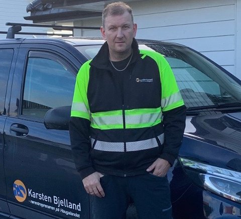 RØRTRØBBEL: Driftsleder Ole Bjelland at mange kan få seg noen stygge overraskelser når de tar turen til hytta i vinterferien.