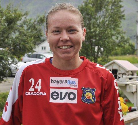 NY KONTRAKT: Marita Holmen Iversen har signert kontrakt hos Røa Dynamite Girls.
