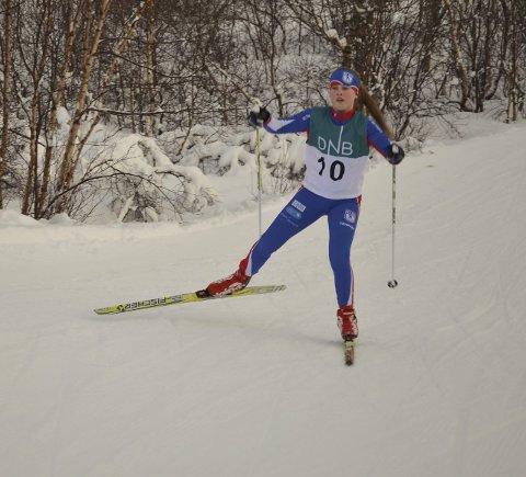 Skiglede: Emma Emelie Nordgård, KS Ski.