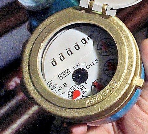ALLE SKAL HA: Gamle vannmålere skal skiftes ut, og de som ikke har vannmåler må installere det.