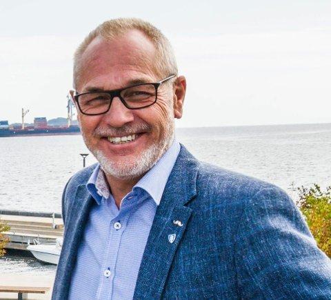 ORDFØRER OG ORDFØRERKANDIDAT: Rune Høiseth