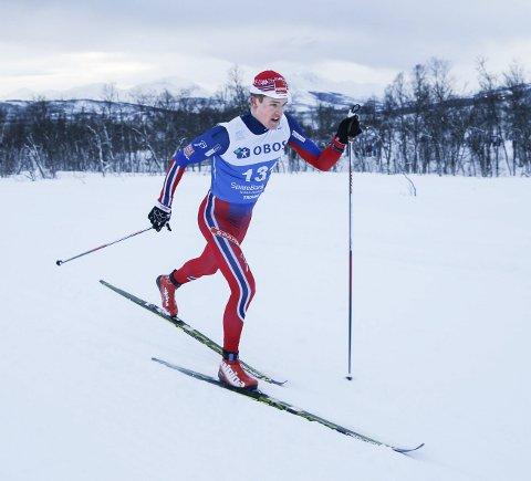 Eirik Sverdrup Augdal gikk inn til 13. plass i 15 kilometer klassisk.