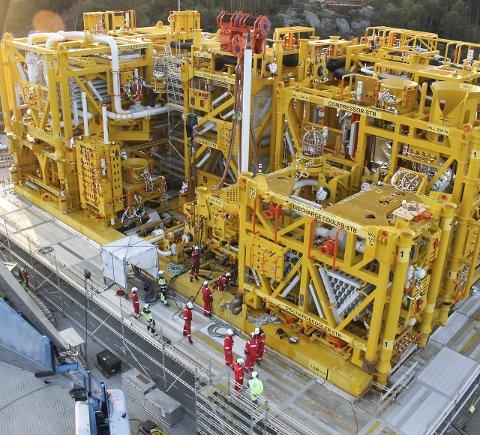 Olje- og gassnæringen vil være viktig for Norge i 50 år til. Her et Åsgard-tog.