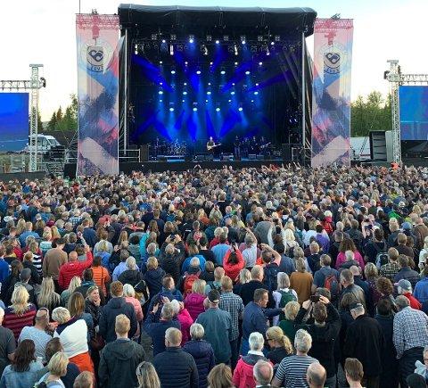 Andre tider: Tilstander som da publikumsmagneten Sting sto på scenen på skistadion på Beitostølen i 2019, kan det naturlig nok ikke bli i år, men to koronavennlige konserter i regi av Beitostølen Live på Lodge 900 blir det lørdag 12. juni.