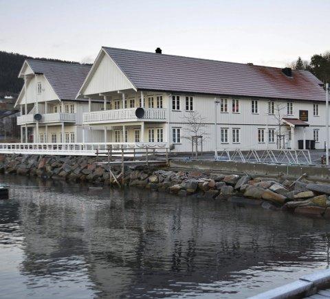 Tingvoll fjordhotell. (Arkiv)