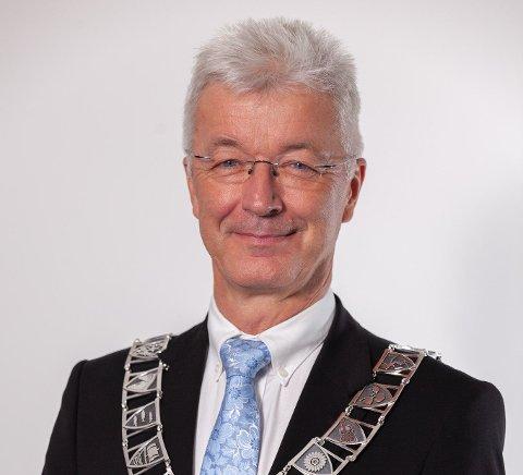 FYLKESORDFØRAR: Jon Askeland (Sp) er fylkesordførar for Vestland fylkeskommune.