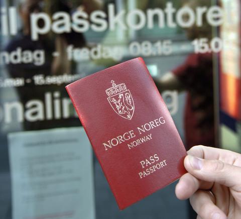 På flyttefot. Det nye passkontoret blir å finne i de gamle lokalene til Skatt Øst på Grålum.