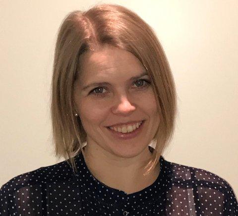 NY SJEF: Bertine Myhre er Horten kommunes nye økonomisjef.