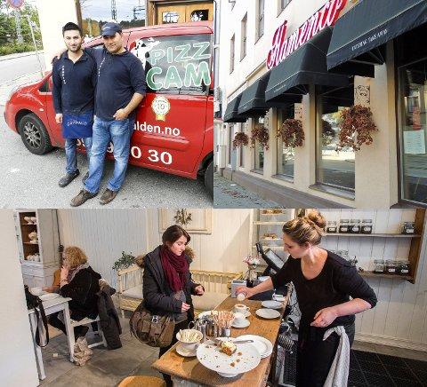 ALT I ORDEN: Kun tre av spisestedene hadde alt i sin skjønneste orden ved første besøk og kunne få et smilefjes umiddelbart. Disse stedene er Flamenco, Polly`s Tearoom og Campino.