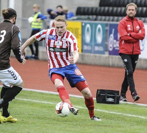 AVVENTER: Ole Strømsborg er en av spillerne som ikke har kontrakt for neste sesong. Arkivfoto: Atle Wester Larsen