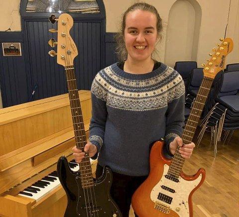 KLAR: Kine Martinsen er klar for oppstarten av en helt ny kulturskole i Hamar fra høsten av. Foto: Privat