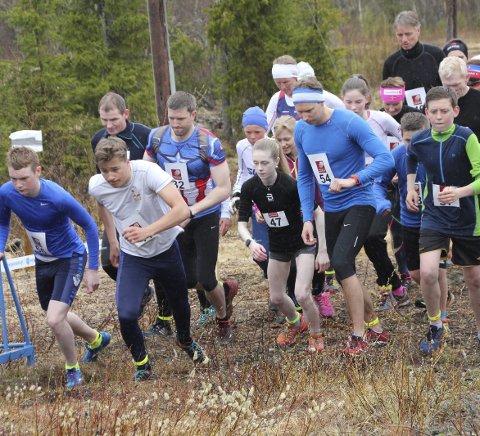 HUGOSPRETTEN: Årets første løp var Hugospretten til Kjærstad IL.  Foto: Jon Steinar Linga