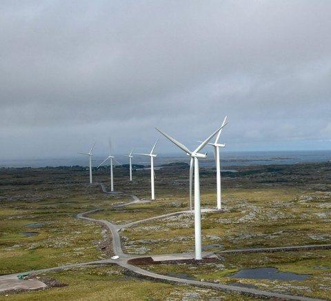 VINDKRAFT I LOFOTEN: Nordkraft AS er i gang med å vurdere muligheter for utbygging av vindkraftpark i Lofoten. Foreløpig vurderes to områder i Borge.