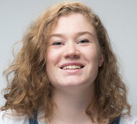 KURSLEDER: Ingrid Marie Røine inviterer til gratis filmkurs for ungdom på Moss bibliotek. (Foto: privat)