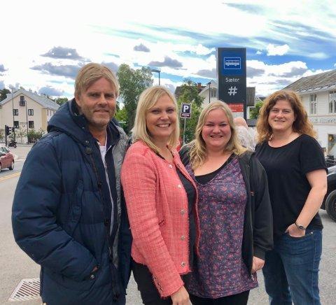 REDAKSJONEN: God sommer fra Arild Jacobsen, Kristin Stoltenberg, Kristin Trosvik og Nina Schyberg Olsen.