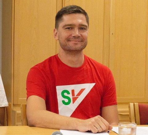 Vegard Kjendsli representerer SV i Nordstrand bydelsutvalg