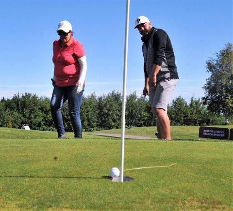 Har fått penger: Mjøsen golf er en av klubbene som får gode penger.