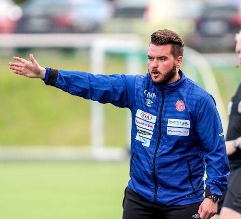 FORNØYD: Strømmen-trener Ole Martin Nesselquist.