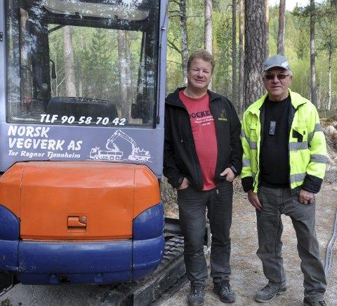 Stilte opp: Tor Ragnar sa aldri nei og stilte for oss i Tinnemyras Venner sammen med sin far Lars og søskenbarnet Runar. Bildet er tatt i 2010.