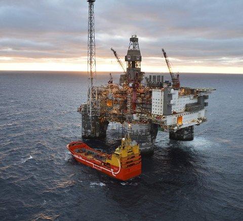 Equinor har redusert aktiviteten i Norskehavet, men ingen av selskapets fast ansatte er permittert. Foto: Harald Pettersen, Statoil