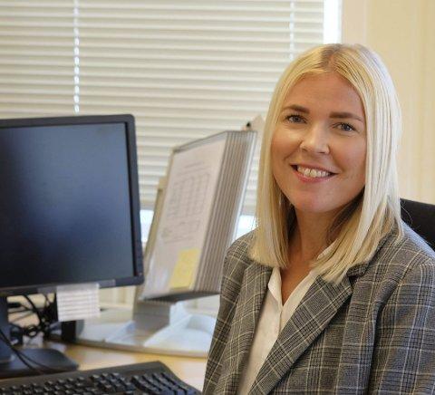 Maja Jørgensen ble ansatt som leder av NAV-kontoret på Vegårshei i september 2017. Nå er hun håndplukket av ledergruppa og tillitsvalgte til å bli kommunens nye enhetsleder for helse og omsorg.