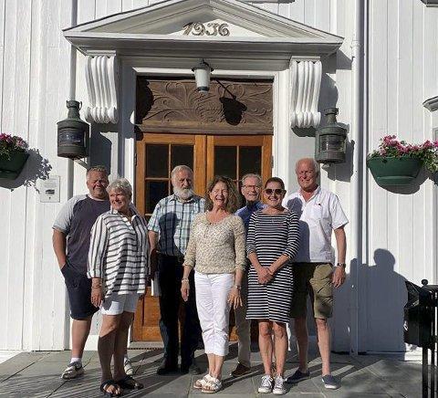 Styret: (f.v) Teresa Seierstad, Torhild Hagen, Ellen D. Jenssen, Morten Løvdal, Per Jørg Johnsen, Arne Bjørnstad og Harald Woxmyhr.