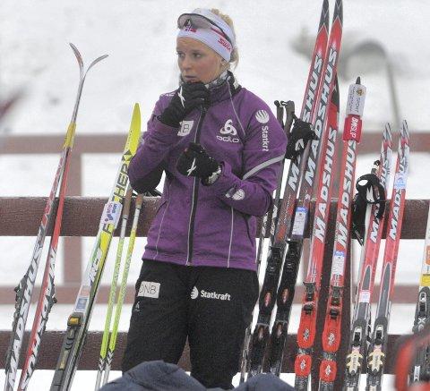 VM-RESERVE: Marion Rønning Huber fikk VM-plass i tolvte time, men må sannsynligvis nøye seg med å se hele mesterskapet i Hochfilzen fra sidelinjen.