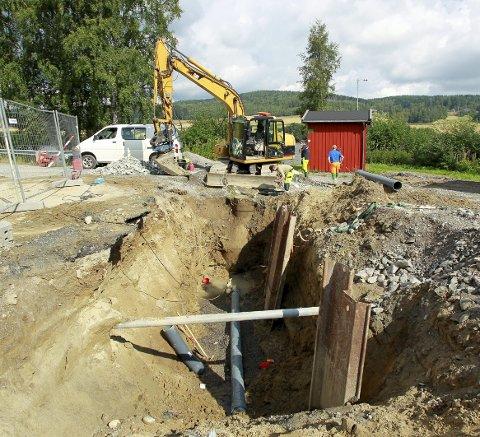 KLOAKK: Det er investering i kloakk og avløp som er grunnen til at kloakkavgiften i Nord-Odal vil øke de neste tre årene. Illustrasjonsfoto: Ole-Johnny Myhrvold
