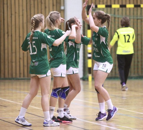 Sterk seier: Grue-jentene tok to sterke poeng hjemme mot Furnes.FOTO: PATRICK GJERDE