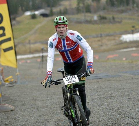 TERRENGSYKKEL: Petter Fagerhaug - Lillehammer CK.