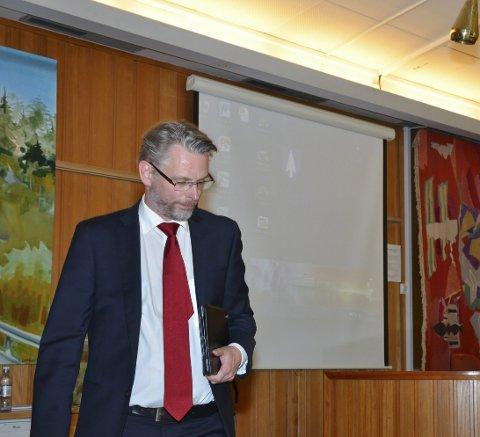 Fikk svar: Gard Folkvord (Ap) fremmet krav om lovlighetskontroll i Opo-saken, sammen med John Opdal (H) og John Helge Rasmussen (Ap).arkivfoto
