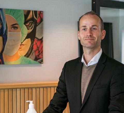 HELD STENGD: Hotelldirektør Tor André Villmones på Quality Hotel Vøringfoss. Arkivfoto: Sondre Lingås Haukedal
