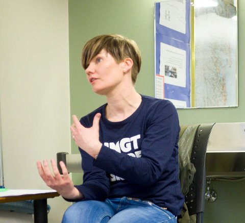 Brit Astrid Grønning i Ungt entreprenørskap