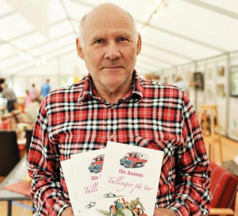 Ny bok: Forfatter Ole Aasnes håper den nye boka faller i smak. Foto: mARIT rEISJAA kARLSEN