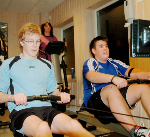 Suksess: Høland Idrettslags treningsstudio blir hyppig brukt. Lørdag arrangeres det åpen dag.foto: øivind eriksen
